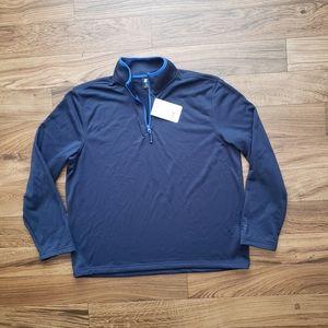 Starter Navy  1/4 Zip Performance jacket